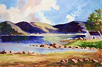 By The Lake, Connemara  (Unframed)