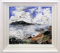 Seascape on a Windy Day