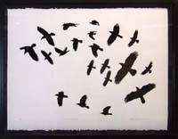 Flock of Black Birds, Ed. of 40