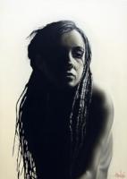 Untitled (Girl with Dreadlocks)