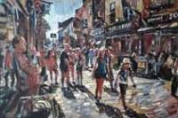 Sunlit Saturday, High Street, Galway
