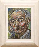 Portrait of Brian Friel