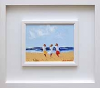 Three Girls on Beach