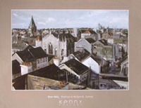 Rooftops & Backyards, Galway - POSTER