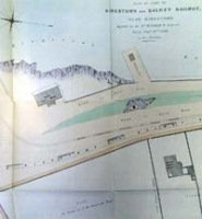 KINGSTOWN AND DALKEY RAILWAY, plan