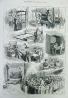 Sketches in a Biscuit manufactory