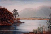 Evening, Lough Shindilla - Kieran Tobin