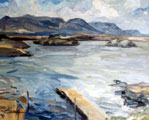 Open Water to the Hills, Gowla Lough - Rosemary Carr