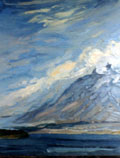 Sweeping Clouds on a Fair Day, Lough Inagh - Rosemary Carr