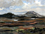 Rain Clearing, View to Cashel, August - Rosemary Carr