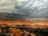Autumn Storm over Gowla Bog - Rosemary Carr