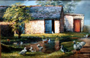 The Duck Pond - Susan Webb