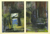 The Boathouse - Diptych - Selma McCormack