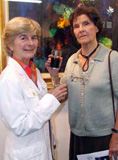 Artists Clare Cryan & Columba Corbett