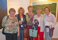 Betty Brown, Valerie Bennett, Catherine McWilliams, Ethna Cahil and Joan Cahill