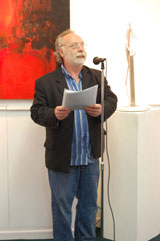 Brian Keenan officially opens the exhibition