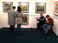 Opening Night of Two for the Road Exhibition by Stef & George Callaghan