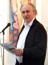 Gerard Hanberry officially opens the exhibition