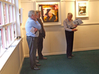 The Burren Exhibition Opening Night