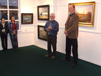 Tom Kenny introduces the artist Paul Guilfoyle