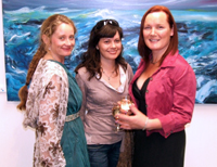 Aingeal Ni Mhuiricu, Orla Campbell and Deirdre Crowley