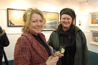 Artists Rosie McGurran & Dolores Lyne
