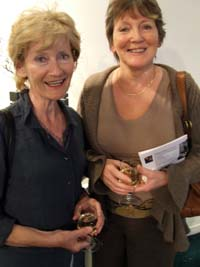 Sisters and artists Elizabeth Kavanagh and Selma McCormack