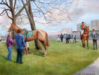 Lucky For Some, Leopardstown by Susan Webb