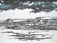 Inishark,Winter