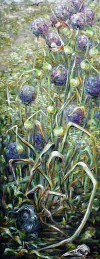 In the Garden (Allium)