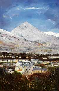 Croagh Patrick and Westport