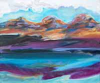 Connemara Lake Reflection  (2006)