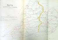 CLARE, map of the County of