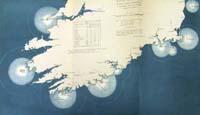 IRELAND, chart of the South Coast s
