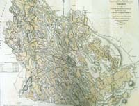 ROSCOMMON, a map of the First, Seco