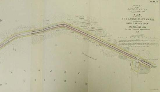 RIVER SHANNON, plan of that part of