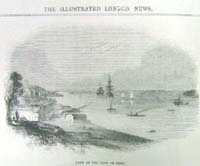 View of the cove of Cork