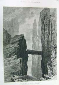 The Grey Man's Path, Antrim Coast