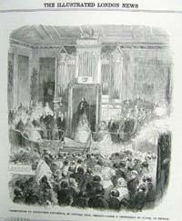 Presentation to Viscountess Dungann