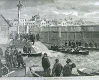 Departure from Portsmouth dockyard
