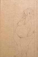 Nude - Pregnant Lady