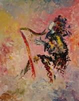 (c) Wild Haired Harpist