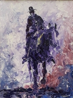 Purple Horseman