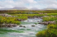 River on Rounstone Bog,