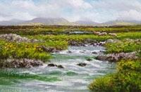 River on Rounstone Bog