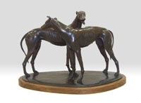 Standing Greyhounds, Ed. 3/10