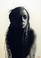 Untitled (Girl with Dreadlocks)