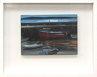 Roundstone Harbour Boats