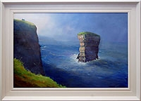 D�n Briste, at Downpatrick Head (Remembered)