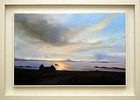 Sunset on Mannin Bay